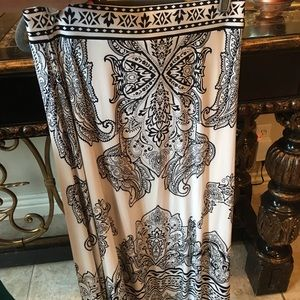 INC Embellished Maxi Skirt